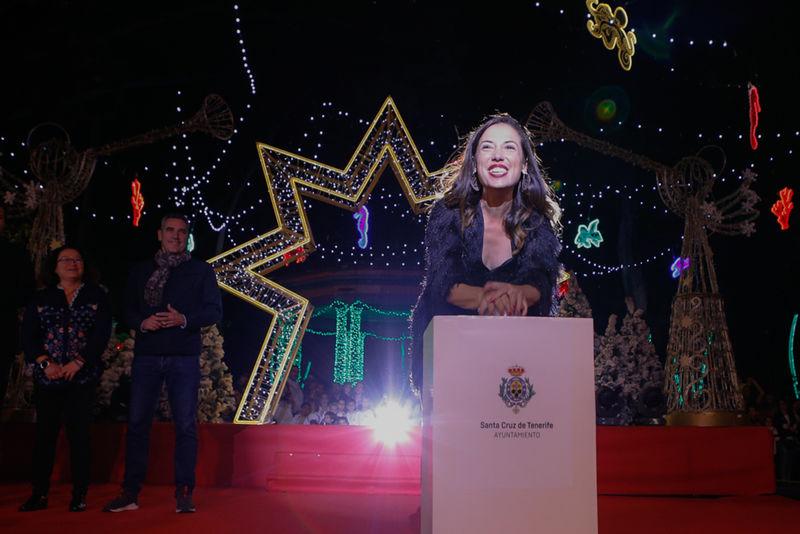 Santa Cruz de Tenerife brilla por los cuatro costados con más de 4 millones de lámparas LED