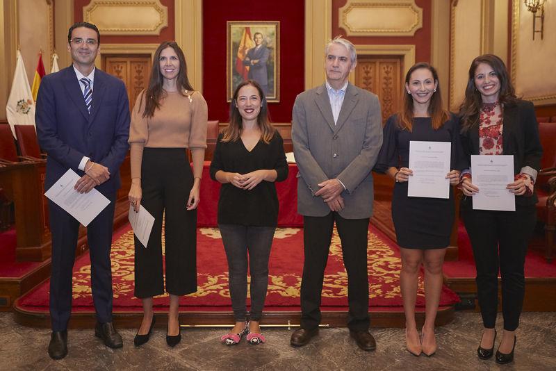 El Ayuntamiento de Santa Cruz de Tenerife incorpora a cuatro nuevos funcionarios de carrera desde hoy