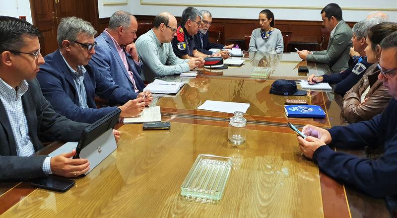 Santa Cruz celebra una 'cumbre' sobre seguridad y emergencias con la DGSE