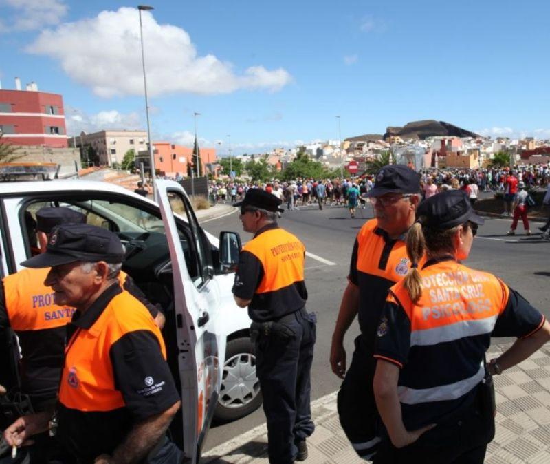 Santa Cruz quiere relanzar y reforzar la agrupación de voluntarios de Protección Civil