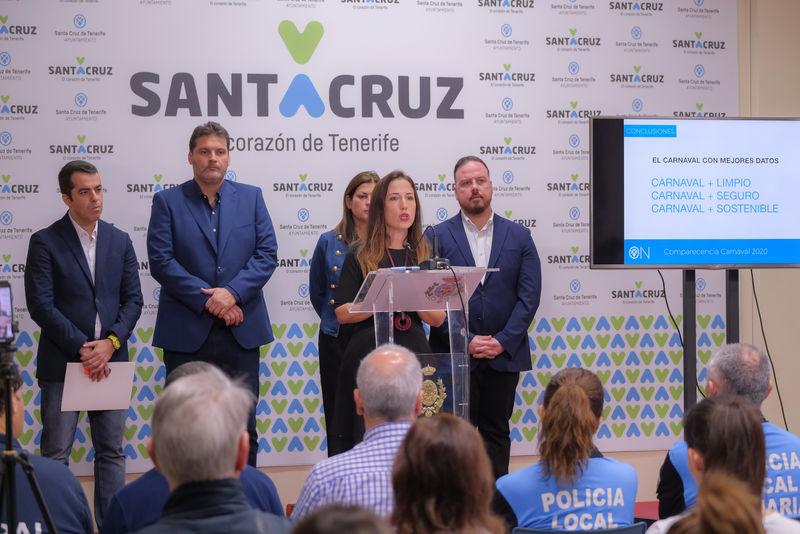 El Carnaval de Santa Cruz 2020, el más seguro, más limpio y más respetuoso con el medio ambiente de la historia
