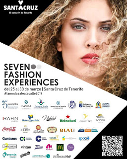 "Cartel de la iniciativa ""Seven fashion experiences"""
